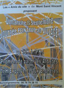 Peintres au village @ Dans tout le village